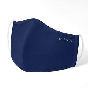 Jaanuu Antimicrobial Face Mask - Estate Navy Blue